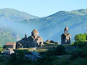 Armenia: Haghpat Monastery near Alaverdi in the North