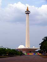 Indonesia: Monas National Monument in Jakarta