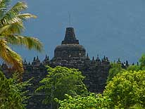 Java (Central)/Borobodur: Buddhist temple complex 15 miles Northwest of Yogyakarta