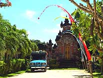 Sanur/Bali/Indonesia: One of the many 'house temples' in Bali