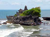 Bali: Tanah Lot temple complex 12 miles Northwest of Denpasar