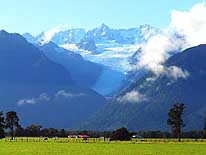 New Zealand: South Island - Fox Glacier and the Southern Alps