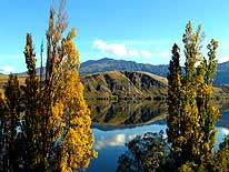New Zealand: South Island - Lake Hayes, between Queenstown and Arrowtown
