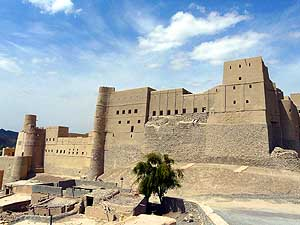 Oman/Western Hajar Mountains - South: Bahla Fortress