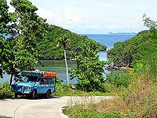 Sipalay/Island of Negros/Philippines: On the way to Punta Ballo, South of the small city of Sipalay