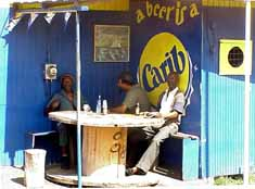 Trinidad & Tobago: Cozy beer corner in Scarborough on Tobago